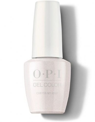 OPI Gelcolor Chiffon on my mind